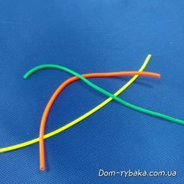 Набор кембриков силиконовых три цвета 3х10см 0.8х1.5мм(9992648)