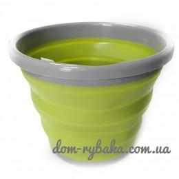 Ведро складное Tramp TRC-091 10л оливковое (9998221)