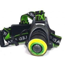 Фонарь аккумуляторный на голову 228 LED (9997309)