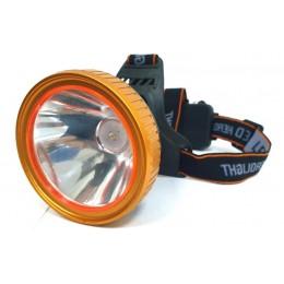 Фонарь аккумуляторный  на голову 7859 LED (9997312)