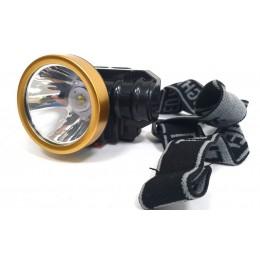 Фонарь аккумуляторный  на голову AS0509-2 (9997313)