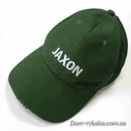 Бейсболка с фонариком Jaxon 5 диодов  зеленая  (9996884)