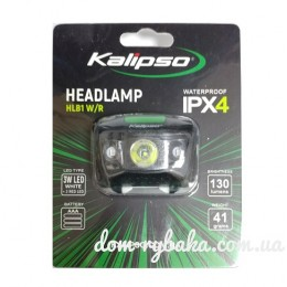 Фонарь на голову Kalipso  Headlamp HLB1 W/R + красные диоды   (9997866)