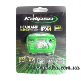 Фонарь на голову Kalipso HLB2 W/UV Sensor + UV диоды   (9997867)