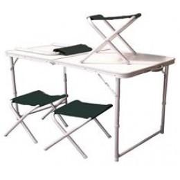 Стол c 4мя стульчиками Скаут +чехол TA 21407+FS21124 (9994022)