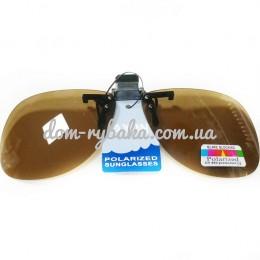 Накладки на очки Jaxon коричневые AK-OKX01AM (9992252)