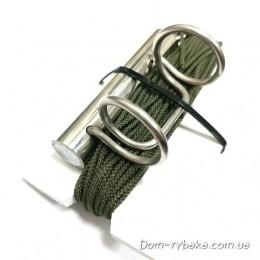 Груз отбойник нержавеющий с веревкой  185гр(9996469)