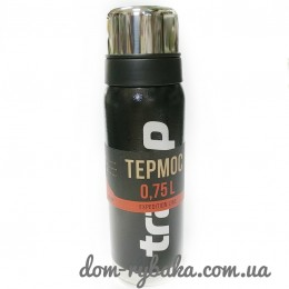 Термос  Tramp Expedition Line TRC-031 черный 0.75л  (9998185)