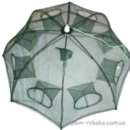 Раколовка складная зонтик 65х65см 8 входов(9996244)