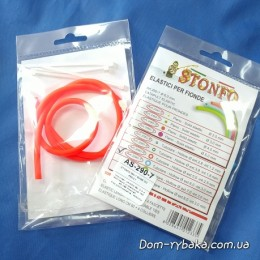 Резина для рогатки  Stonfo  полая 60 см красная (9997061)