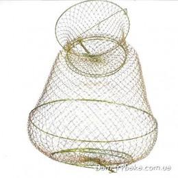 Садок металлический круглый 38см диаметр (6826007)