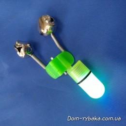 Сигнализатор поклевки двойной с подсветкой (9996067)