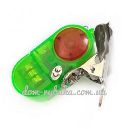 Электронный сигнализатор поклевки на удилище зеленый (9990684)