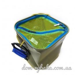 Ведро EVA для воды и рыбы Kalipso 22Х22см  (9997895)