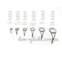Кольцо запчасть для ремонта спиннинга керамика 1 ножка (9993937)