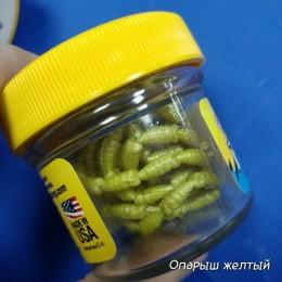 Искусственный опарыш Berkley желтый 110шт (1079209)