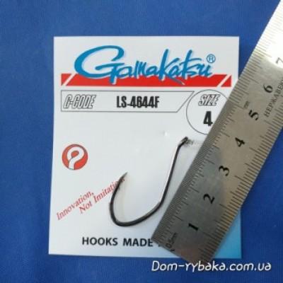 Крючок Gamakatsu LS-4644F 004 6шт(1491420400)