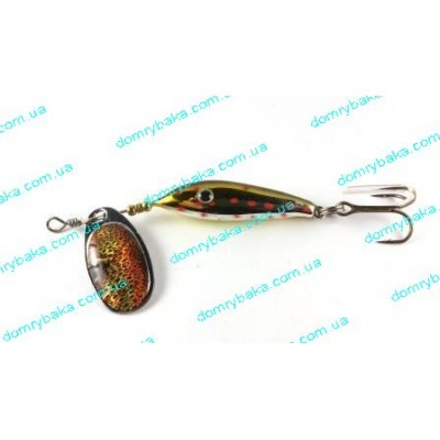 Блесна SPRO Toy-Boy Brown Trout 6гр (4331106)