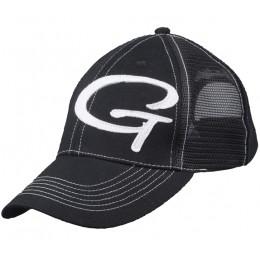 Бейсболка Gamakatsu Black White сеточка(7020034)
