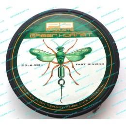 Поводковый материал PB Products Green Hornet 25lbs 20м.(8202025)
