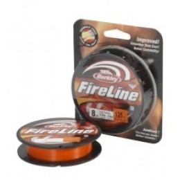 Шнур Berkley Fireline Original New 0.25мм 17.5кг 110м orange (1315291)