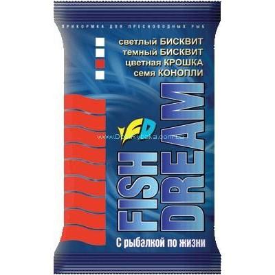Fish Dream Бисквит красный 1кг (9992164)