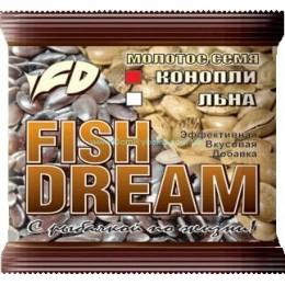 Семя конопли Fish Dream молотое 0,2кг(9991886)