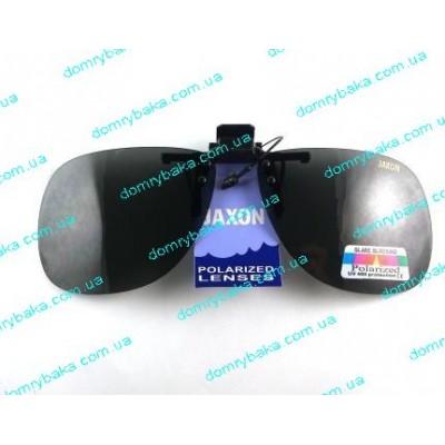 Накладки на очки Jaxon серые  AK-OKX01SM(9992253)