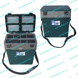 Зимний ящик Тонар зеленый(9992484)