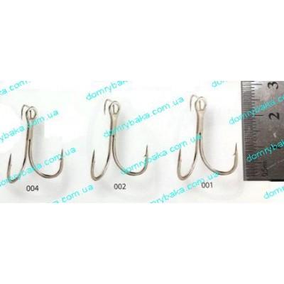 Крючок Gamakatsu тройной Twinex Treble №001 1шт(149057001 )