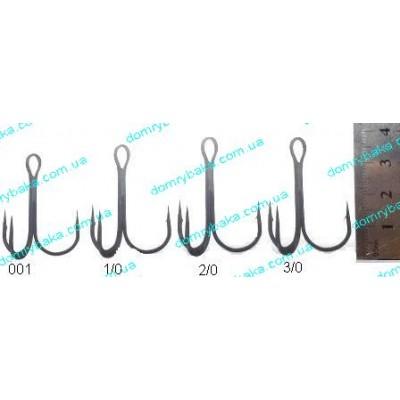 Крючок Gamakatsu тройной 13B №10 10 штук (14666601000)
