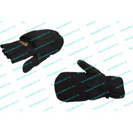 Ветрозащитные перчатки-варежки Norfin Softshell L(703061-L)