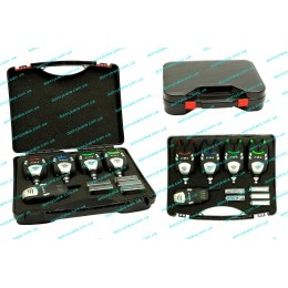 Комплект сигнализаторов  поклёвки EOS XZTK8803-TZ 4+1(9993113)