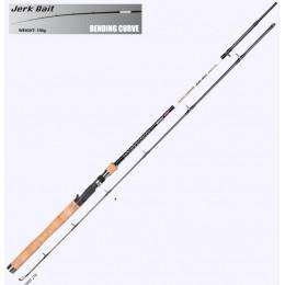 Джерковое удилище SPRO Norway Jerkbait 2.1m 60-150гр смещение оси колена(2899210)