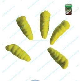 Berkley опарыш салатовый Gulp Alive waxies 190 ps в жидкости(1140592)