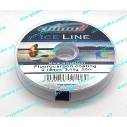 Леска Climax Ice-line 0.18мм 3.0kг 50м(16356)