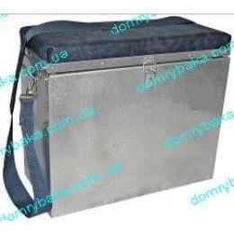 Ящик зимний дюралюминий  32х38х18cм УЦЕНКА(99904139)