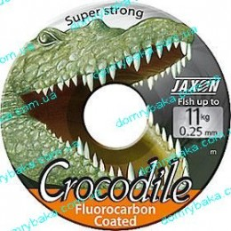 Леска Jaxon Crocodile Fluorocarbon coated 0.12мм 3kг 25м(9992523 )