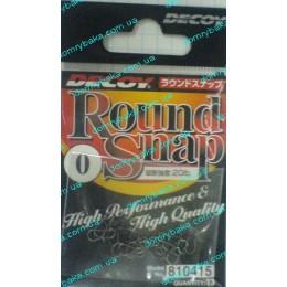 Застежка Decoy Round snap №0 13шт(810415)