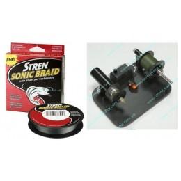 Шнур  Stren Sonic Braid 0.12mm 11.4kg  зеленый 1метр (11522901)