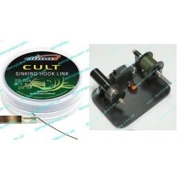 Поводковый материал Climax CULT Hook Link 30lb camo 1м.(193961)