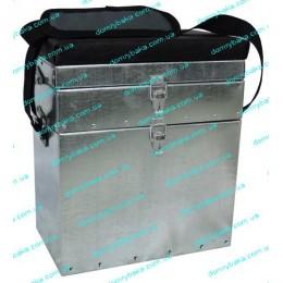 Ящик зимний оцинкованый двухярусн. 0431 35х30х18