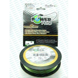 Шнур Power Pro Super 8 Slick 0,23мм 17кг 135м Зеленый (9542197)