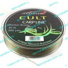 Шнур маркерный Climax Marker braid 0,16мм 9кг 274м камуфляж ,988
