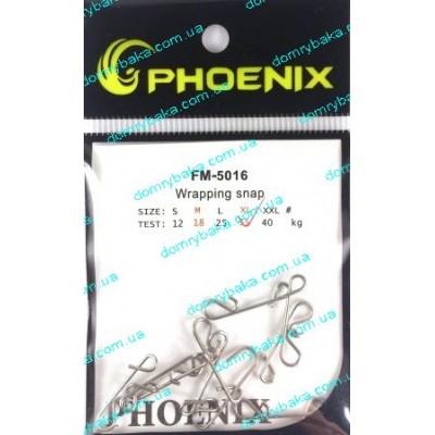 Безузловая застёжка Fhoenix Wrapping snap L (5016) фото