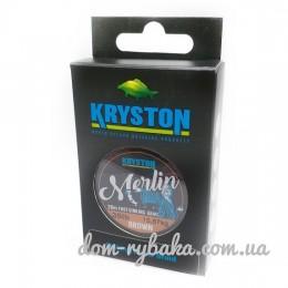 Поводковый материал KRYSTON Merlin Fast Sinking Supple Braid 20м мягкий (9998718)