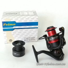 Катушка Feima QC19 3BB 3000FD +доп.шпуля пластик (9997183)