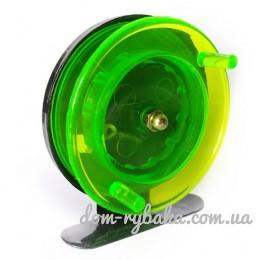 Катушка проводочная 601 60мм зеленая (9996357)