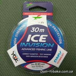 Леска Intech Ice Invision 0.10мм 0.92kг 30м(9996280)