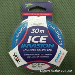 Леска Intech Ice Invision 0.14мм 1.71kг 30м(9996282)